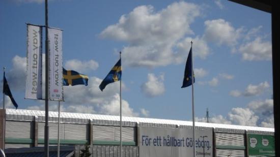 โกเธนเบิร์ก, สวีเดน: taman smo stigle ... oko podneva ... par sati do konca!
