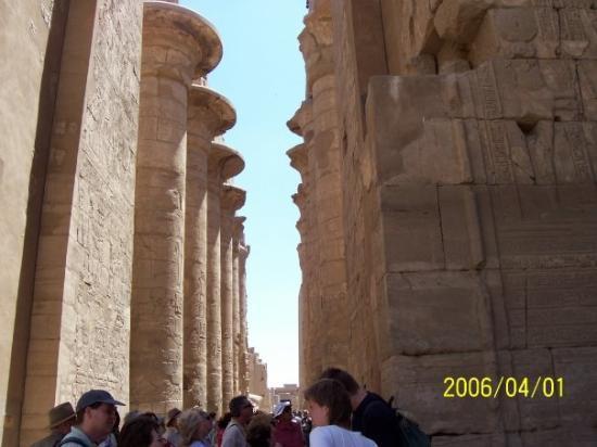 ลักซอร์, อียิปต์: Great Hypostyle Hall