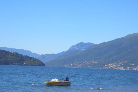 Domaso, อิตาลี: mein lago di como... :)