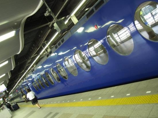 โอซาก้า, ญี่ปุ่น: Nankai Rapi:t β Train
