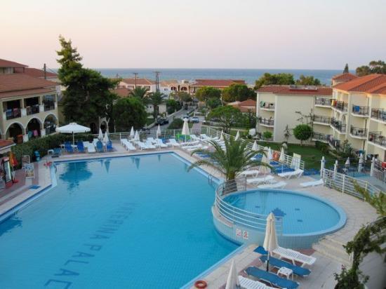 Katerina Palace Hotel: Blick aus dem Fenster
