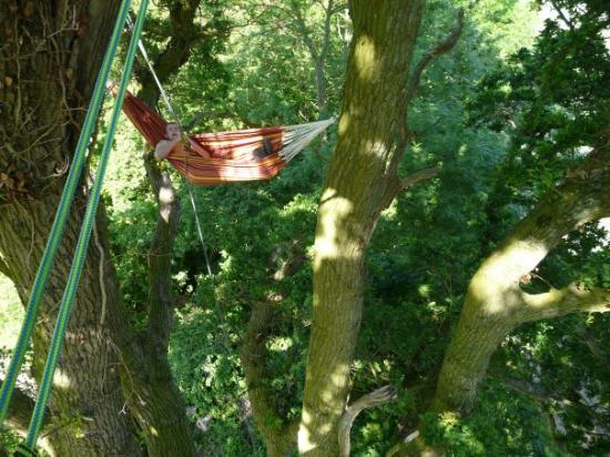 ก็อง, ฝรั่งเศส: HAMAC a 12 metre de haut