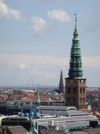 โคเปนเฮเกน, เดนมาร์ก: Vu à partir de Rundetaarn ( Round tower )