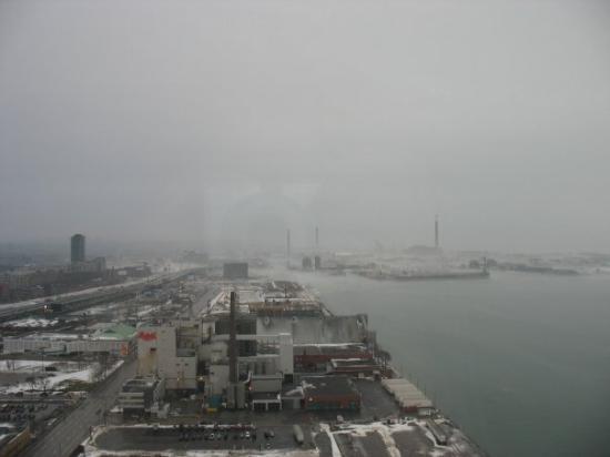 โตรอนโต, แคนาดา: Fantastic shot of the Toronto Harbor