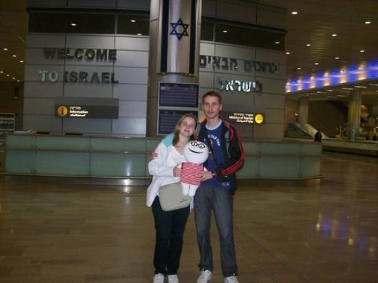 เทลอาวีฟ, อิสราเอล: En Israel!! Con Isa y Dani! Ben Gurion International Airport