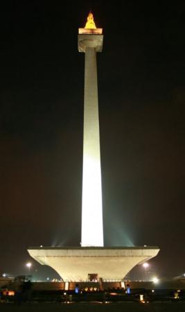 National Monument (MONAS): Monumen Nasional -Jakarta