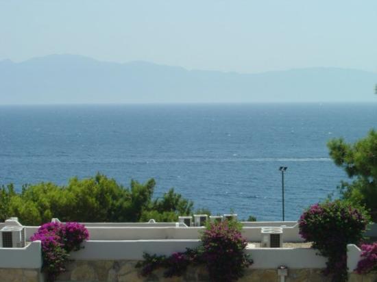 โบดรัม, ตุรกี: La vista dalla stanza