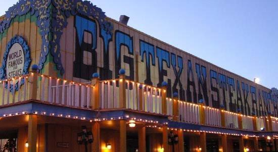 Big Texan Steak Ranch: The Big Texan...Home of the 72 oz steak.  If you can eat a shrimp coscktail, baked potato, salad