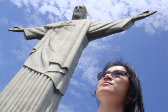 รูปปั้นพระเยซูคริสต์: Corcovado, Brazil on Nov 2008