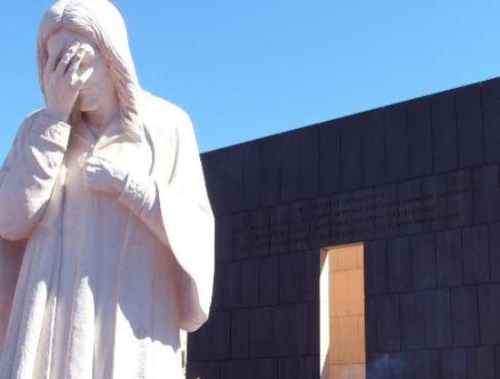Oklahoma City National Memorial & Museum: Jesus weeps....OCM