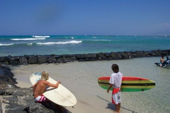 Waikiki Beach ภาพถ่าย