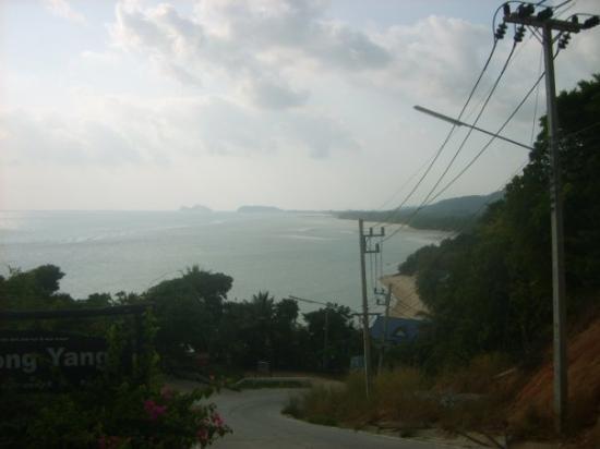 เกาะพะงัน, ไทย: Steep roads