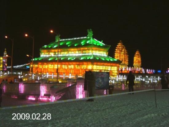 ฮาร์บิน, จีน: Eisstadt