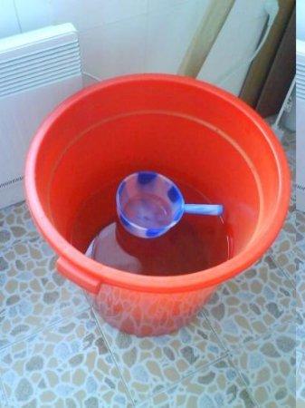 ฮาร์บิน, จีน: WC Spühlung