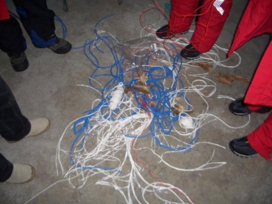 ฮาร์บิน, จีน: Schleifen machen, da der Koffer in Vbg stehen blieb