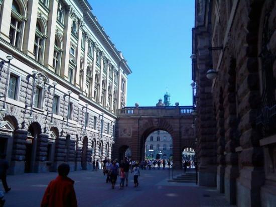 Parliament Building (Riksdagshuset): Stockholm