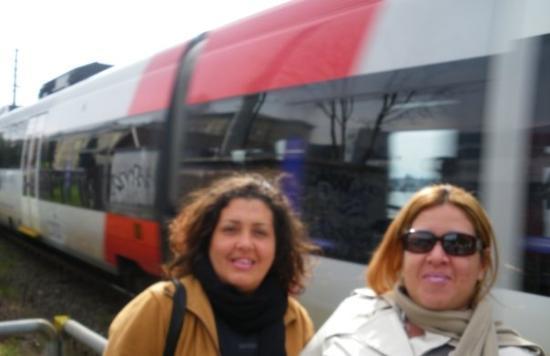 เบรเกนซ์, ออสเตรีย: Ahí viene el tren