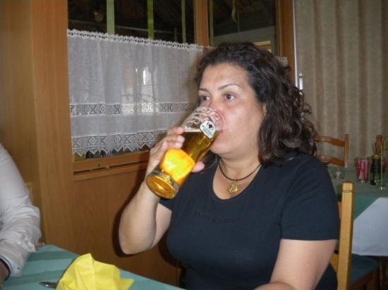 เบรเกนซ์, ออสเตรีย: Buena cerveza..salud!