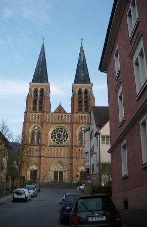 เบรเกนซ์, ออสเตรีย: Iglesia del Sagrado Corazón de Jesus en Bregenz