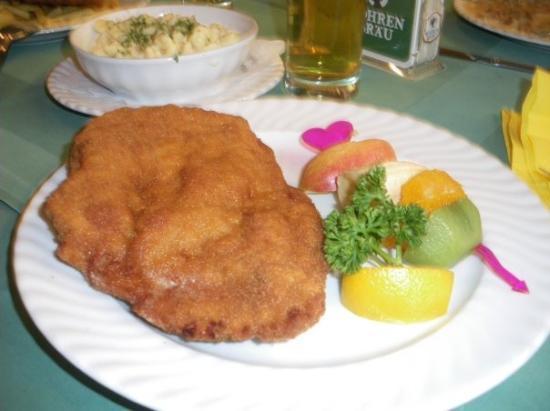 เบรเกนซ์, ออสเตรีย: El menu ummmm