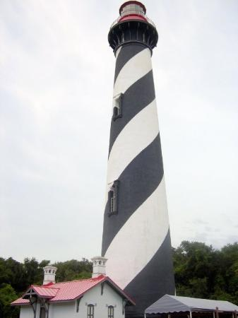 St. Augustine Lighthouse & Maritime Museum: The lighthouse