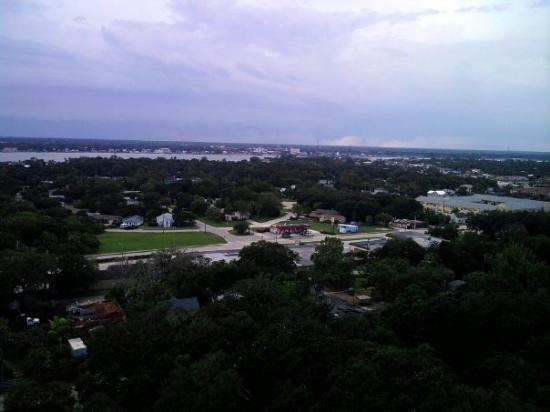 St. Augustine Lighthouse & Maritime Museum: View from the lighthouse