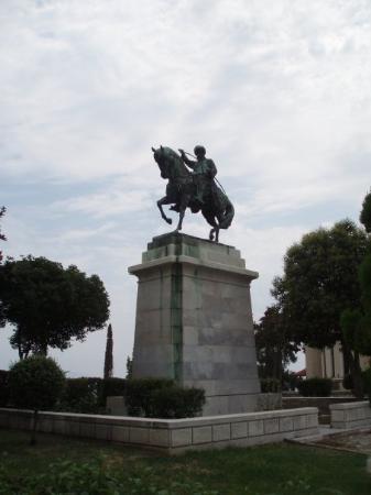 คาวาลา, กรีซ: spomenik Mehmet Ali Pasi