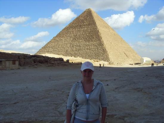 พีระมิดซักคารา: me in cairo