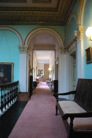 Temple House: hall way to my room
