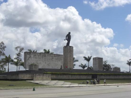 บาราเดโร, คิวบา: Mausoleum of Che. Santa Clara, Cuba
