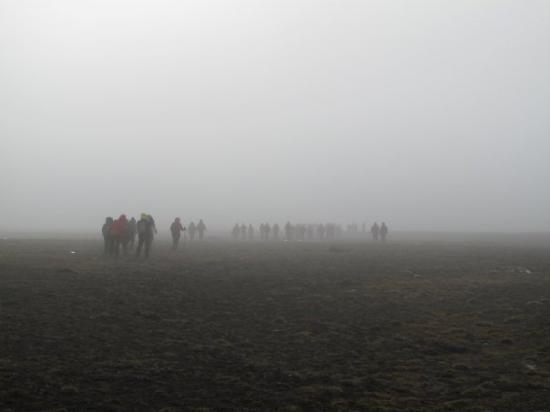 Spitsbergen, นอร์เวย์: The Fog - wenn ein Horrorfilm zur Realitaet wird....