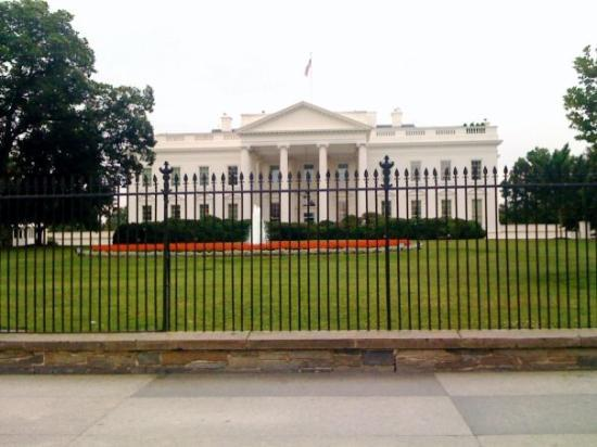 White House: Something moving about seeing this building in person.