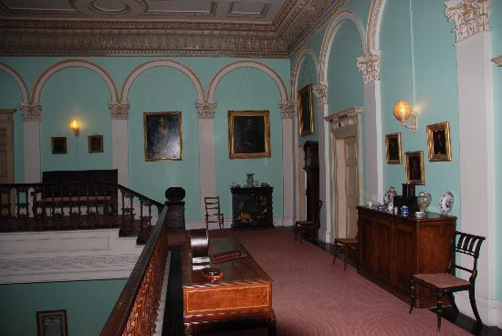 Temple House: View upstairs
