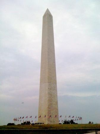 Washington Monument.  The lines were around the block to get inside.  Maybe next time...