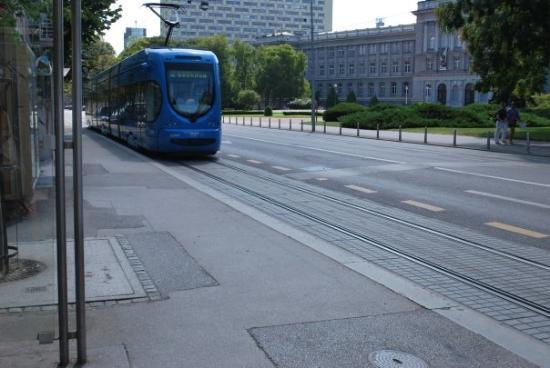 ซาเกร็บ, โครเอเชีย: The tram