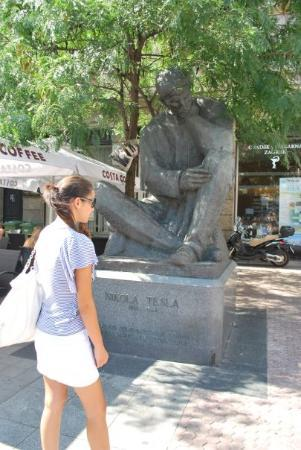 ซาเกร็บ, โครเอเชีย: Nikola Tesla