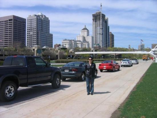 มิลวอกี, วิสคอนซิน: en el down town de Milwaukee