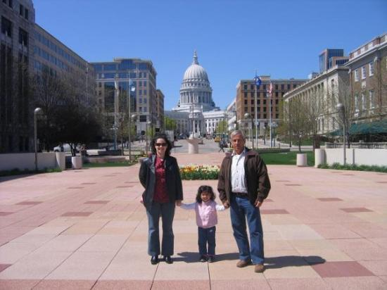 แมดิสัน, วิสคอนซิน: conociendo Madison con mami y Papa Pepe