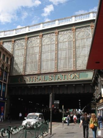 กลาสโกว์, UK: Central Station Glasgow City