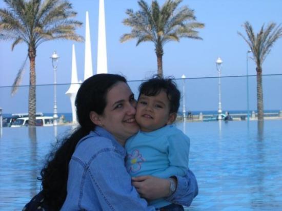 อะเล็กซานเดรีย, อียิปต์: estamos en Alexandria y con el mar mediterraneo al fondo