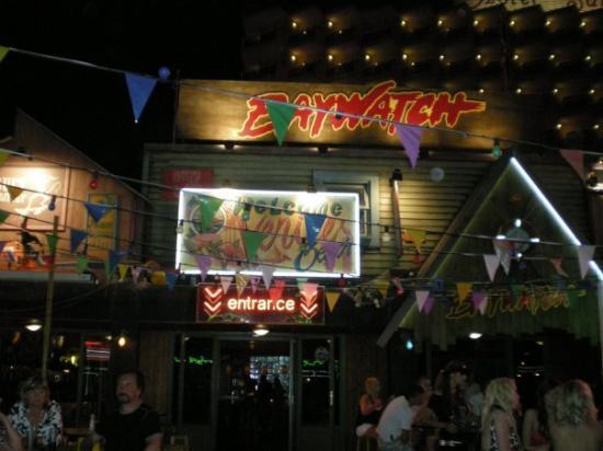 มากัลลัฟ, สเปน: Baywatch bar