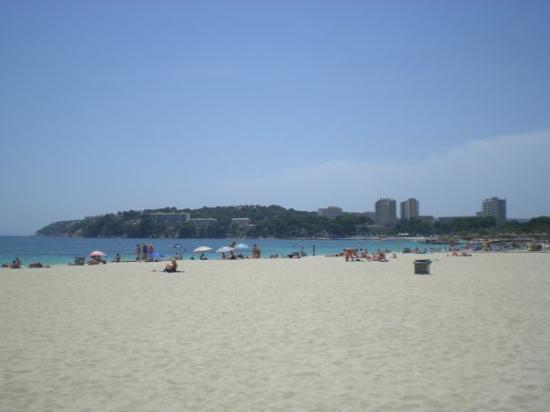 มากัลลัฟ, สเปน: magaluf beach