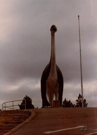 Dinosaur Park: One of the Dinosaurs on Skyline De. in Rapid City