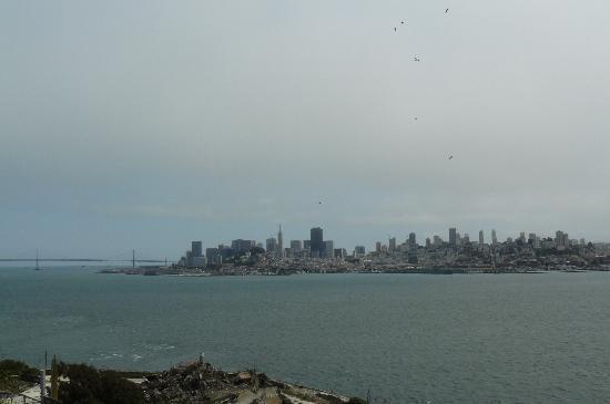 อัลคาทราซ: View to San Francisco from Alcatraz