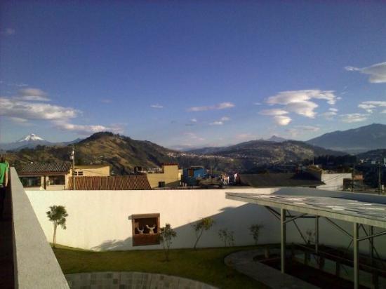 กีโต, เอกวาดอร์: The view from the Guayasamin museum