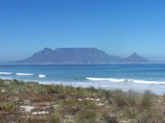 ใจกลางเมืองเคปทาวน์, แอฟริกาใต้: Montagne de la Table Table Mountain