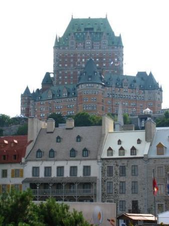 ควิเบกซิตี, แคนาดา: Château de frontenac