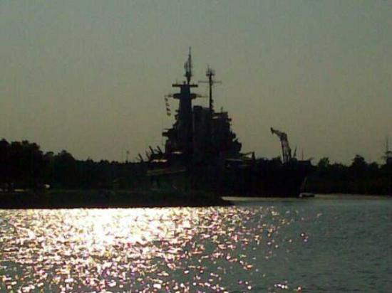 Battleship North Carolina: 08/12/2009