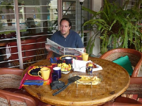 La Paloma Bed and Breakfast: Great and quiet atmosphere to relax