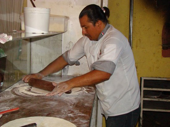 Restaurante Jauja: pizza maker